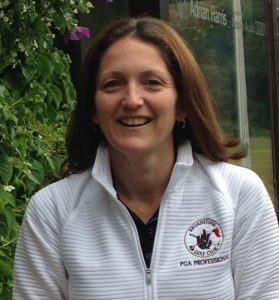 image of kelly bridges, professional golf instructor in dorset