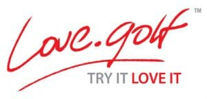Official logo of Love.golf organisation