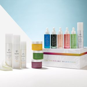 Image of a range of Tropic Skincare products